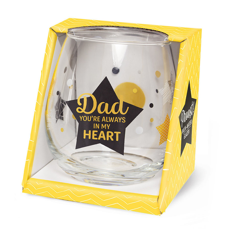 Glas Proost - Dad you're always in my heart-1