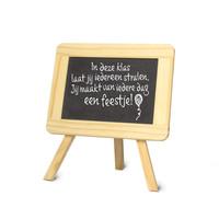 Schoolbordje - In deze klas laat jij iedereen stralen