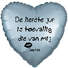 Folieballon De Liefste Juf - Met Naam