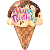 Qualatex Folieballon Happy Birthday Icecream