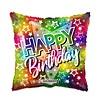 Folieballon Birthday Big star - 46cm