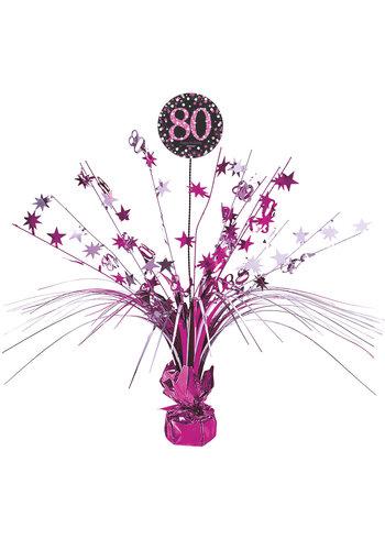 Centerpiece 80 Sparkling Celebration Pink - 45,7 cm