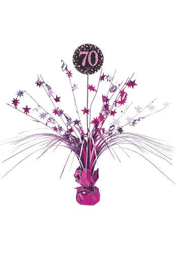Centerpiece 70 Sparkling Celebration Pink - 45,7 cm