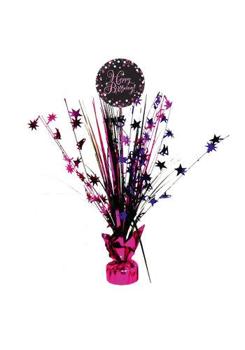 Centerpiece Happy Birthday Sparkling Celebration Pink - 45,7 cm