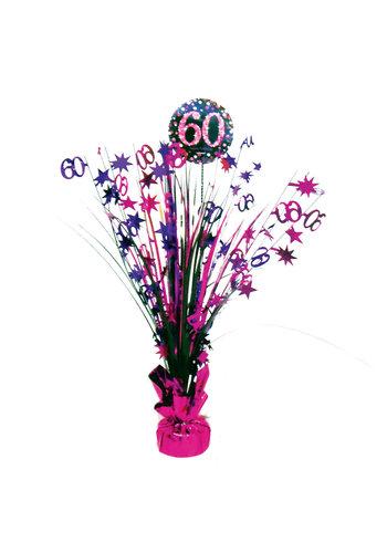 Centerpiece 60 Sparkling Celebration Pink - 45,7 cm