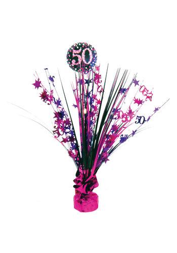 Centerpiece 50 Sparkling Celebration Pink - 45,7 cm