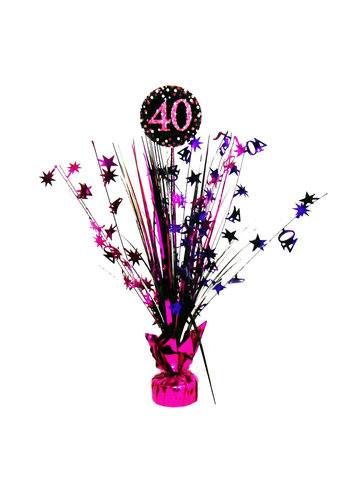 Centerpiece 40 Sparkling Celebration Pink - 45,7 cm