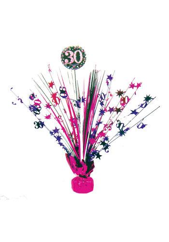 Centerpiece 30 Sparkling Celebration Pink - 45,7 cm