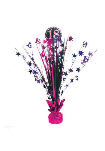 Centerpiece 18 Sparkling Celebration Pink - 45,7 cm