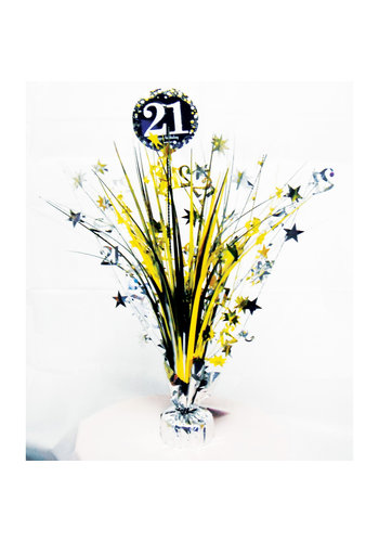 Centerpiece 21 Sparkling Celebration Gold - 45,7 cm
