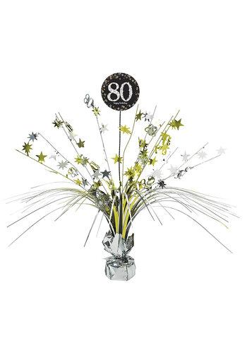 Centerpiece 80 Sparkling Celebration Gold - 45,7 cm