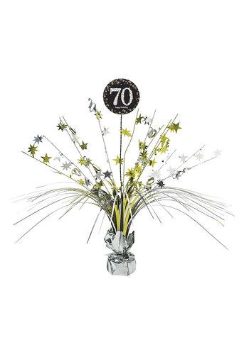 Centerpiece 70 Sparkling Celebration Gold - 45,7 cm