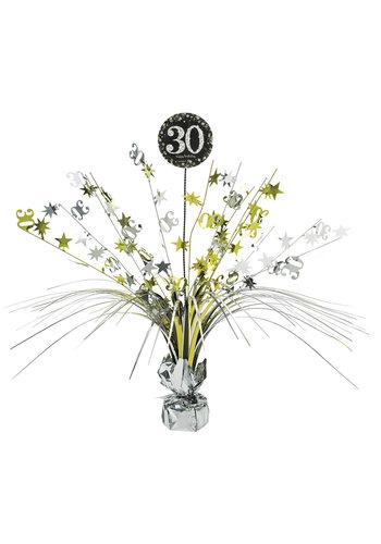 Centerpiece 30 Sparkling Celebration Gold - 45,7 cm