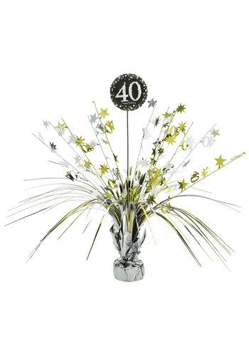 Centerpiece 40 Sparkling Celebration Gold - 45,7 cm