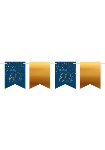 Vlaggenlijn Elegant True Blue 60 Jaar - 6 meter