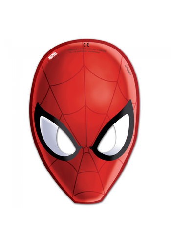Spiderman Maskers - 6 stuks