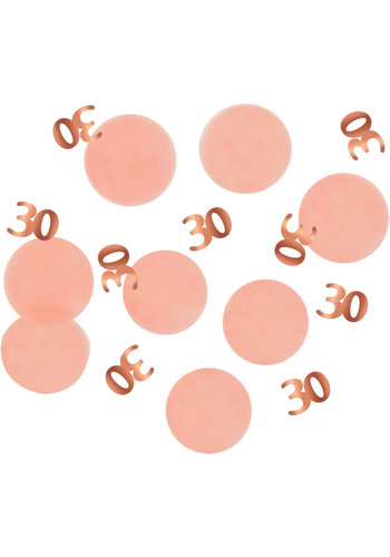 Confetti Elegant Blush 30 Jaar - 25 gram