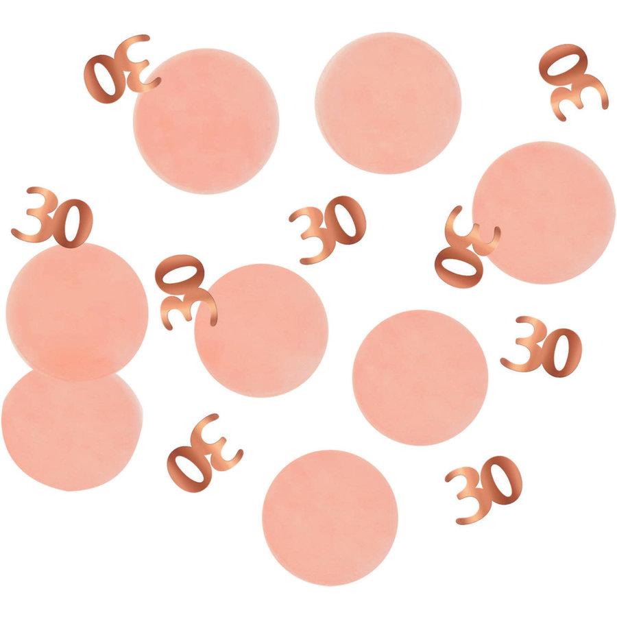 Confetti Elegant Blush 30 Jaar-1
