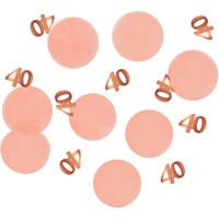 Confetti Elegant Blush 40 Jaar
