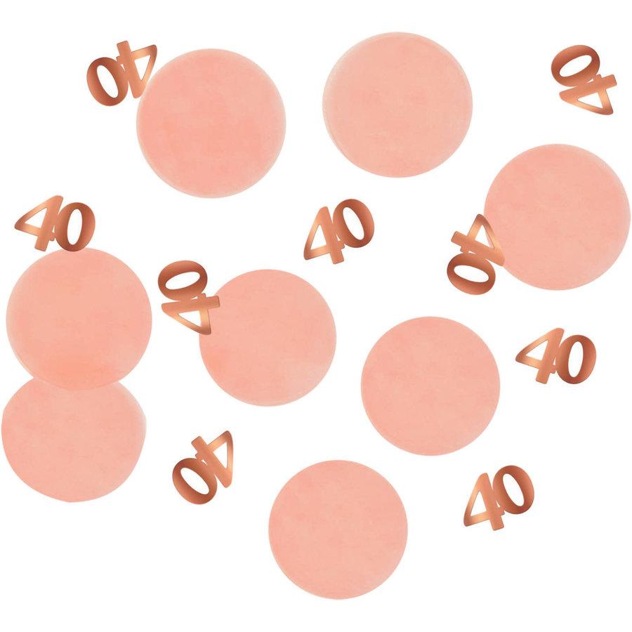 Confetti Elegant Blush 40 Jaar-1