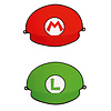 Super Mario Feesthoedjes - 8 stuks - 18,1 x 12,4 cm