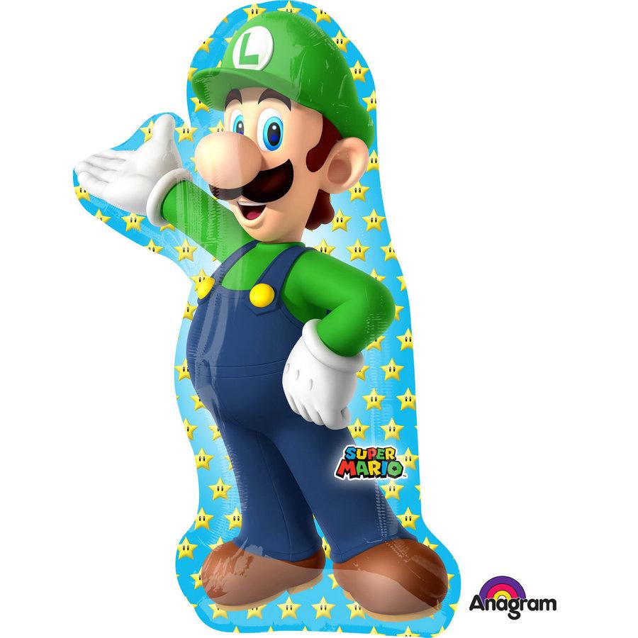 Folieballon SuperShape Luigi-1
