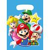 Feestzakjes Super Mario Plastic - 8 st