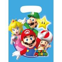 Feestzakjes Super Mario Plastic