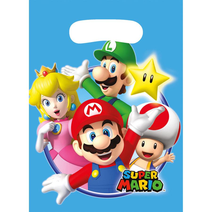 Feestzakjes Super Mario Plastic-1
