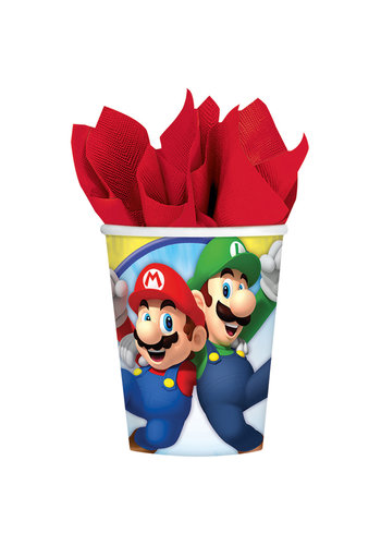 Super Mario Bros Bekertjes - 8 st - 250ml