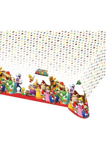 Super Mario Tafelkleed Plastic - 120 x 180 cm