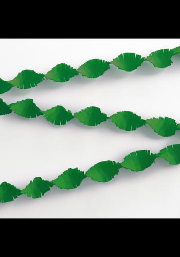 Crepe Guirlande Groen - 6 meter