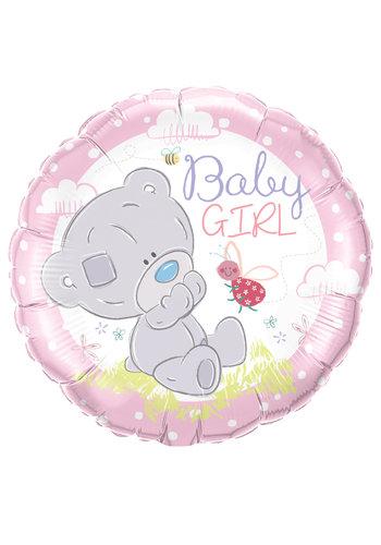 Folieballon Baby Girl Me To You - 45cm