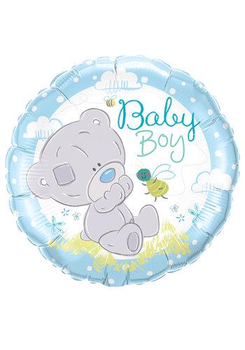 Folieballon Baby Boy Me To You - 45cm