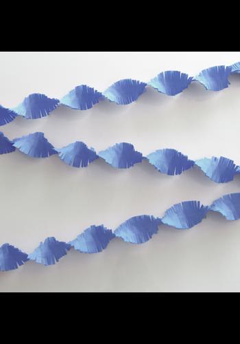 Crepe Guirlande Licht Blauw - 24 meter