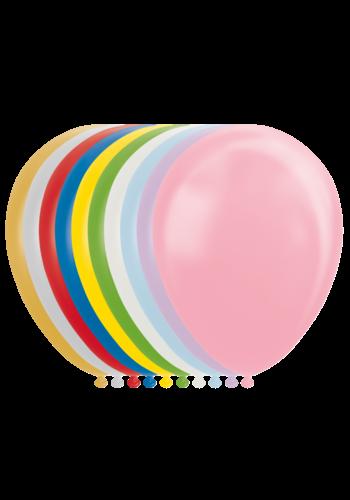 Mix van metallic kleuren - 30cm - 25 stuks