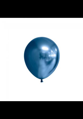 Blauw Chrome - 13 cm - 100 stuks