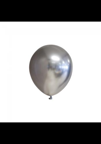 Zilver Chrome - 13 cm - 100 stuks