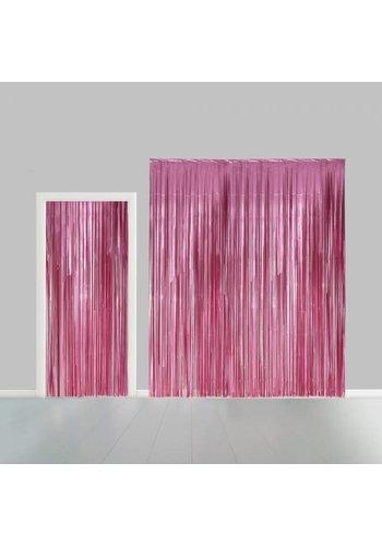 Deurgordijn Licht Roze - 2,4x1mtr