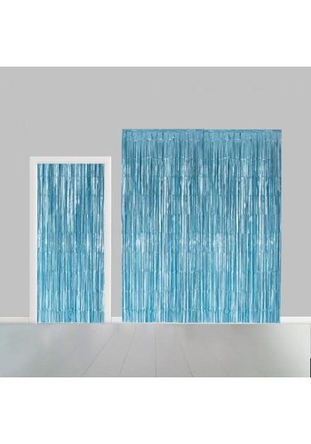Deurgordijn Licht Blauw - 2,4x1mtr