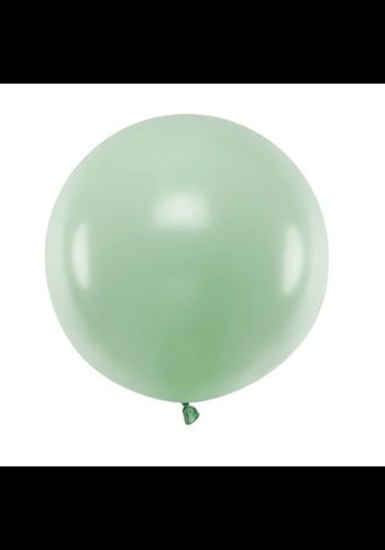 Ronde ballon 60 cm - pastel pistache - 1st