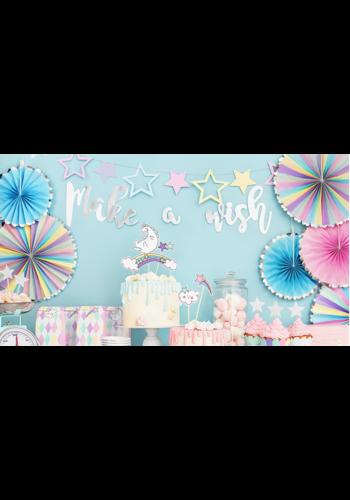 Banner - Make a wish - 15x60 cm