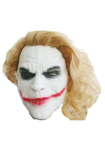 Masker Joker with orange hair