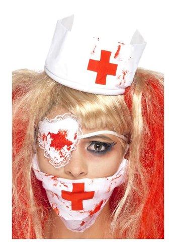 Bloedige verpleegster kit