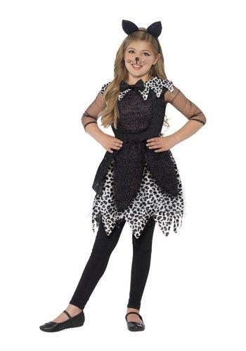 Deluxe Midnight Cat-kostuum
