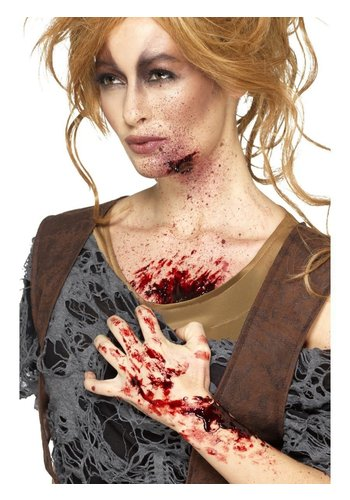 Scab Blood - Donker Rood - Droogt Realistisch - 25 gr