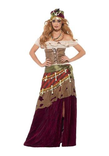 Deluxe Voodoo Priestess-kostuum