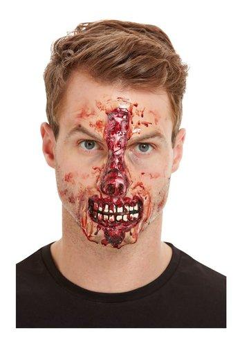 Make-Up FX - blootliggende neus en mond