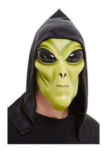 Alien Latex Masker - Groen