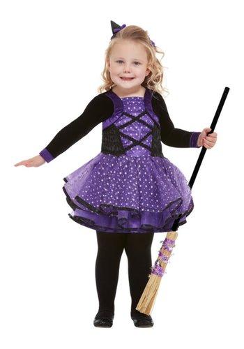 Pretty Star Witch-kostuum voor peuters